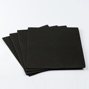 Black Large EVA Foam Sheets for Cosplay Paper